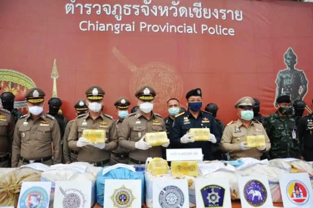Yaba tablets Seized Chiang Rai