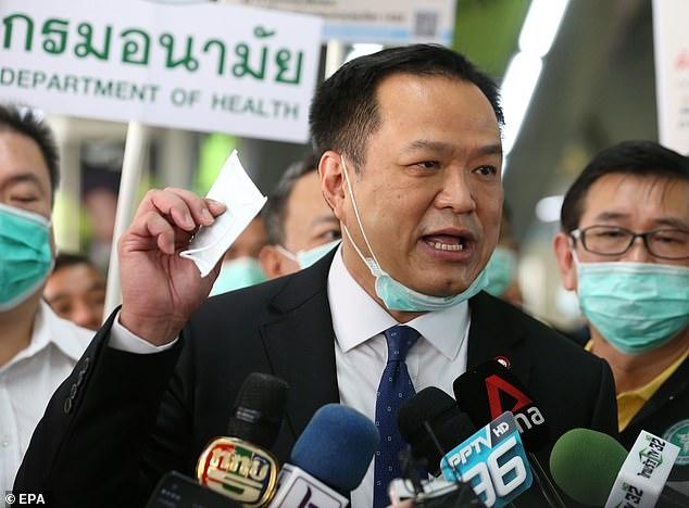 Anutin Says Vaccines Pass Tests