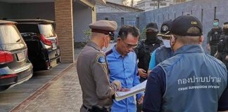 Casino Kingpin Arrested in Rayong