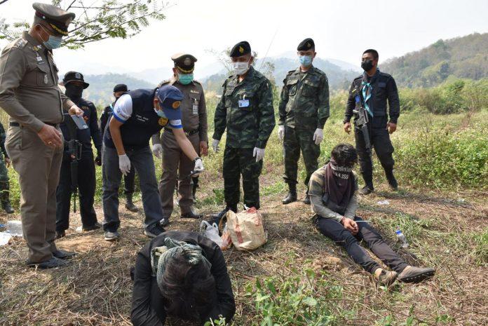 Drugs Bust Chiang Rai