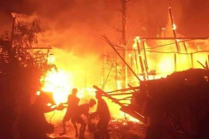 Fire In Karen Refugee Camp