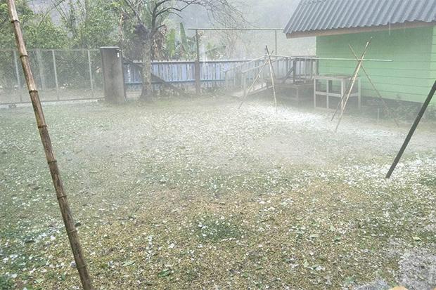 Hail Storm Chiang Mai