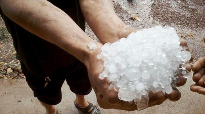 Hail Storm Thailand