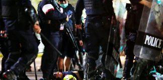 Medic Attacked By Police In Bangkok