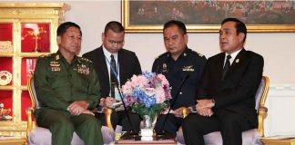 Myanmar and Thailand Leaders