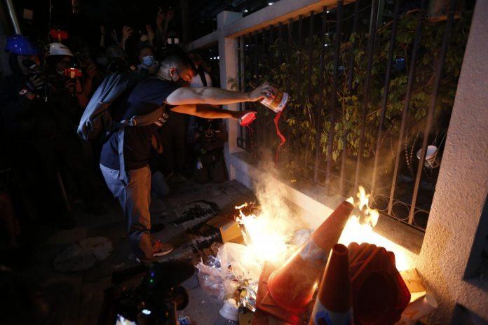 Bangkok Protesters Arrested