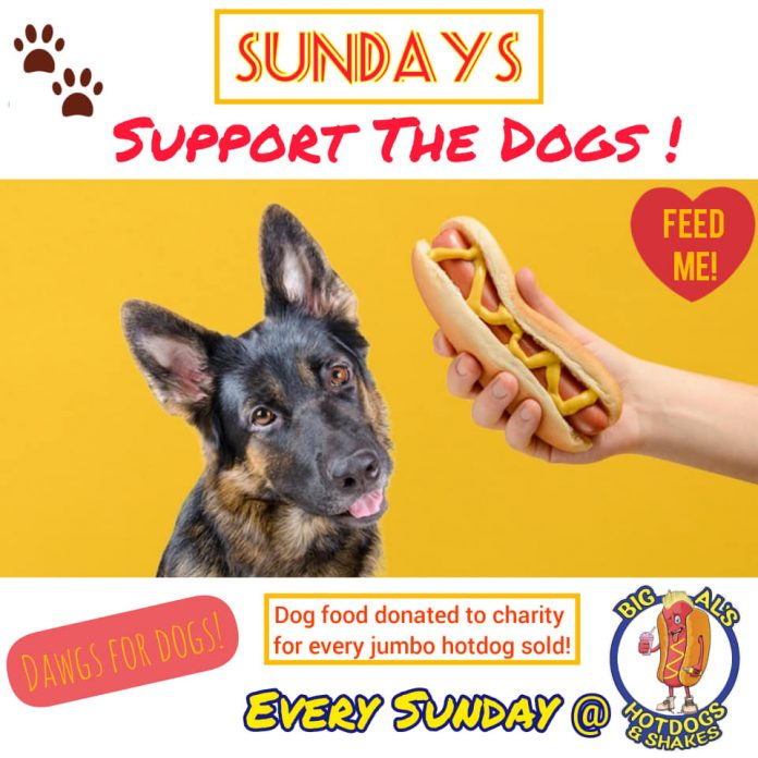 Big Als Support The Dogs Day