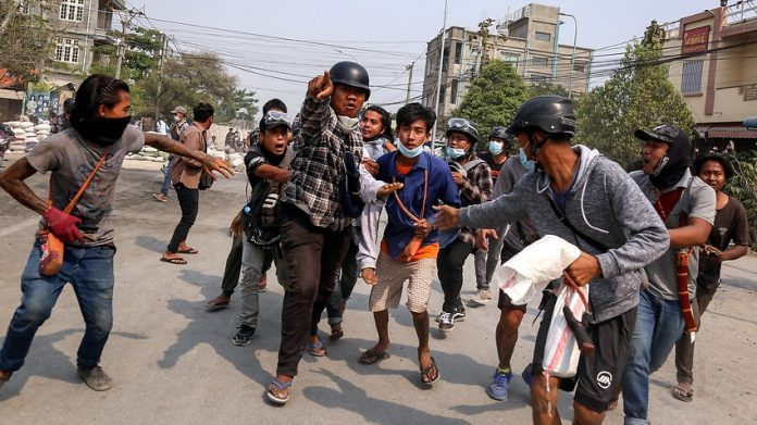 Girl Killed By Myanmar Security Forces