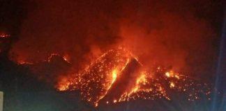 Mountain Fire Chiang Mai