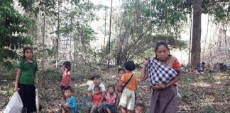 Myanmar Coup Refugees