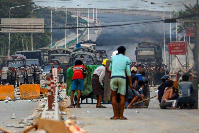 Myanmar Imposes Martial Law