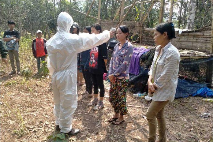 Myanmar Nationals Caught Entering Thailand