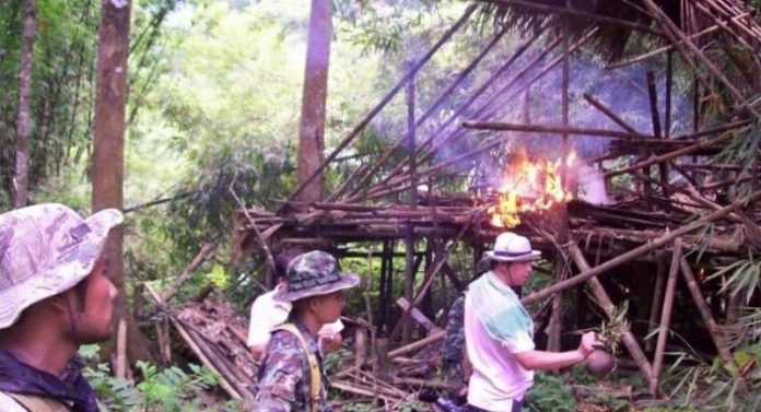 burning down of Karen villagers' homes Kaeng Krachan National Park