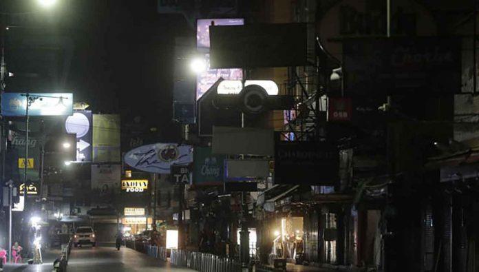 Bangkok Bars Close