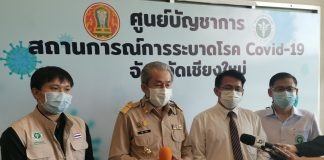 Chiang Mai Prisoners Get COVID-19