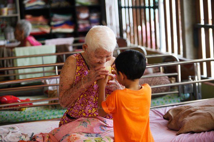 Elderly In Thailand