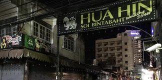 Hua Hin Bars Closed