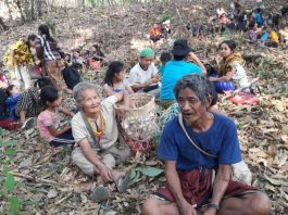 Karen Villages Flee Airstrikes