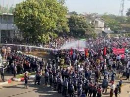 Myanmar Protests Bago