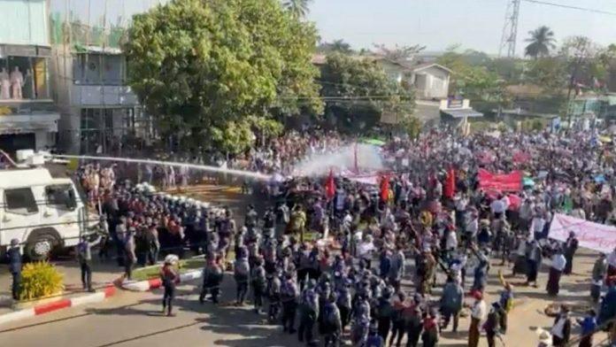 Myanmar Protests Bago