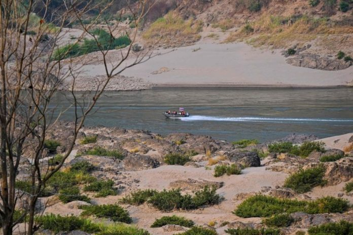 Thai Border Patrol Boat