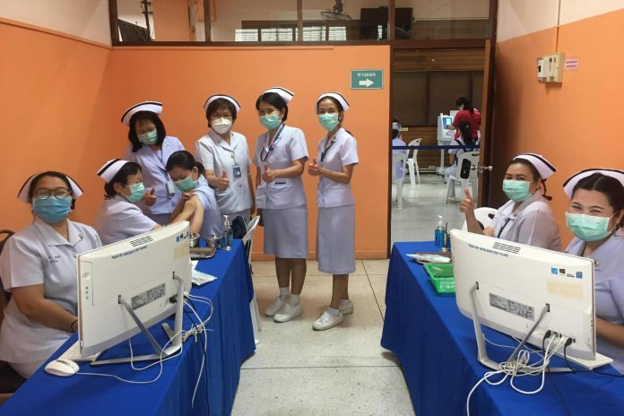 Vaccine Rollout Lampang