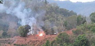 Fighting Myanmar Border