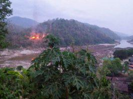 Fighting Thai Myanmar Border