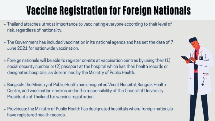 Foreigner Vaccination