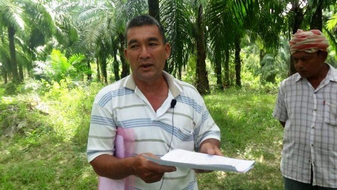 Lawyer and Land Rights Activist Somsak Onchuenjit