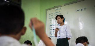 Myanmar Teachers Suspended
