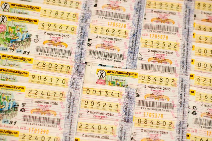 Thailand Lottery Tickets