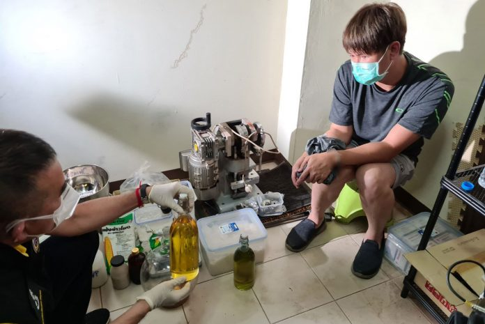 Chemical Engineer Arrested