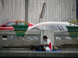 Homeless People Thailand
