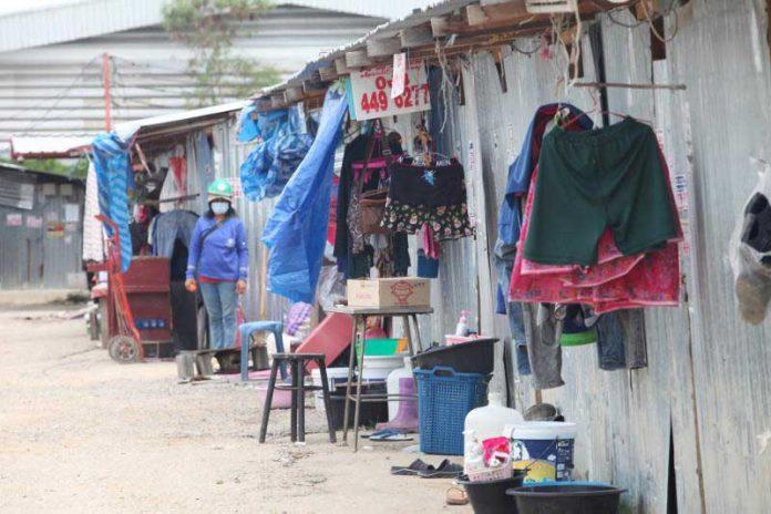Worker Camp In Bangkok