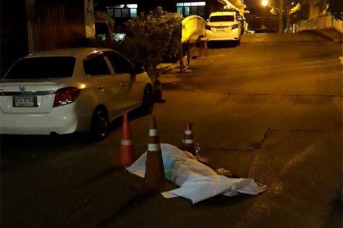Dead Body In Street