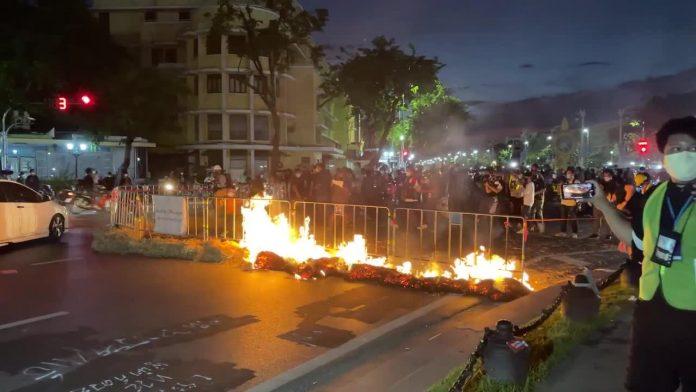 Bangkok Protests August