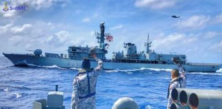 Naval Drill With UK