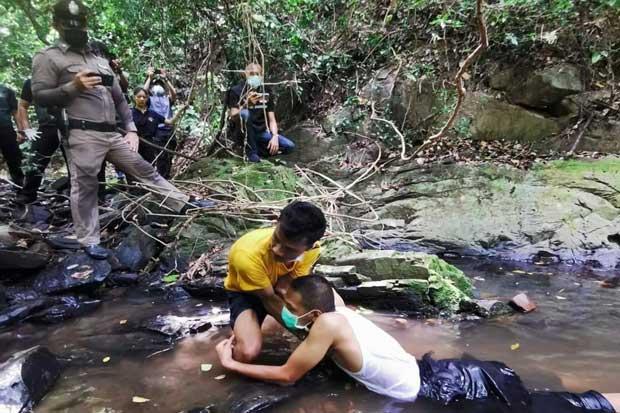Phuket Murder Scene