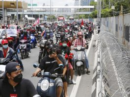 Protests In Bangkok August 2021