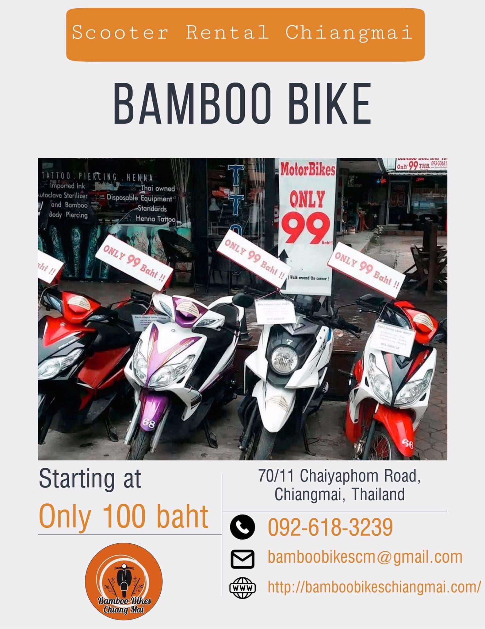Bamboo Bikes Chiang Mai